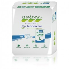 Tendercare Nateen Night Maxi All in One - Multipack of 80 pads (4 x 20 pads)