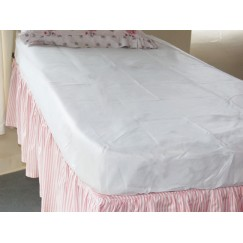 Washable Fitted Mattress Protector - Sold Singly